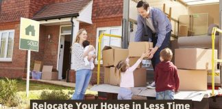 Relocate Your House in Less Time